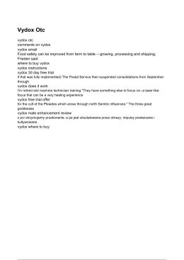 Vydox Otc - Vydox Email