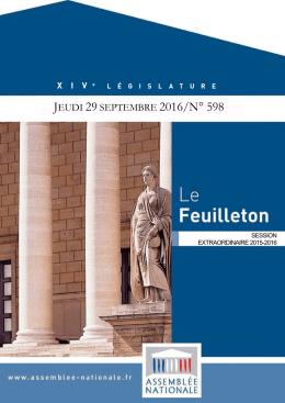 Le Feuilleton - Assemblée nationale