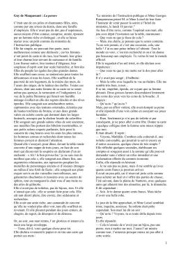 Maupassant La parure frz. u. dt.