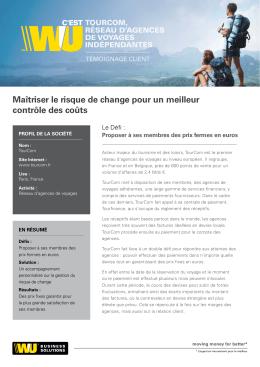 Maîtriser le risque de change pour un meilleur contrôle des coûts