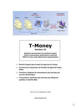 T-Money - Solutions de communications sécurisées