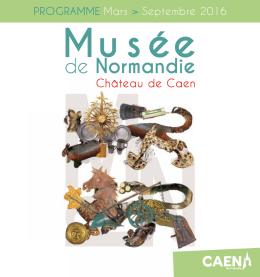 le programme du Musée de Normandie