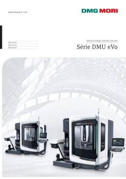 Série DMU eVo - DMG MORI France