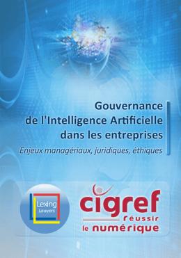 Gouvernance de l`Intelligence artificielle dans les grandes
