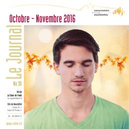 d`infos... - Conservatoire de musique neuchâtelois