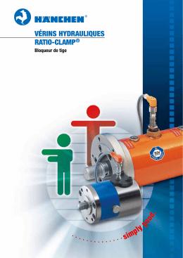Vérins hydrauliques raTiO-Clamp