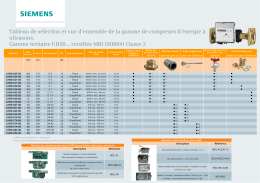 Flyer compteurs ultrasons