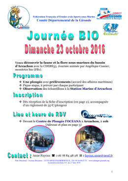 Programme et Inscription