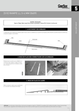 [510] rampe ll 5-6 mm (0609)