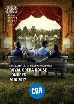 Programme Royal Opera House 2016-2017