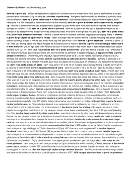 Derriere La Porte - hnul.herokuapp.com
