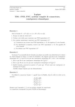 TD6 - LIPN - Université Paris 13