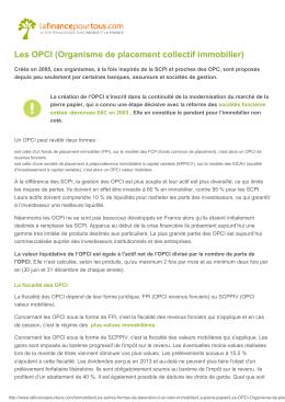 Télécharger en PDF - La finance pour tous