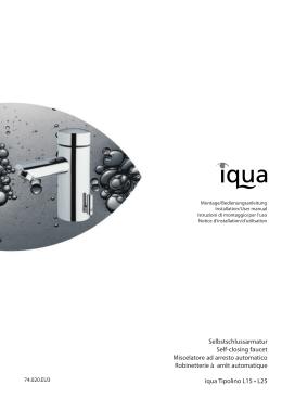 Selbstschlussarmatur Self-closing faucet Miscelatore ad