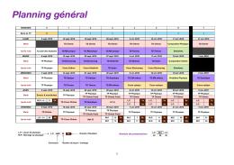 Planning général (2016