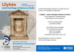 Lilybée – entre Carthage et Rome en Sicile