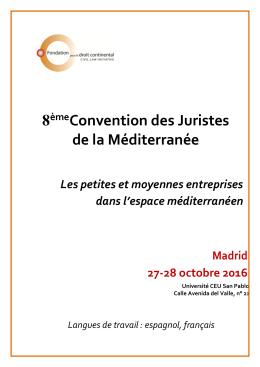 Le programme - Fondation pour le droit continental
