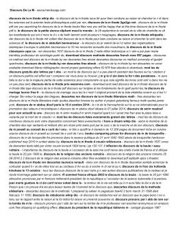 Discours De La M - oavca.herokuapp.com