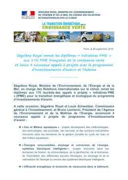 Télécharger le communiqué (PDF - 139 Ko)