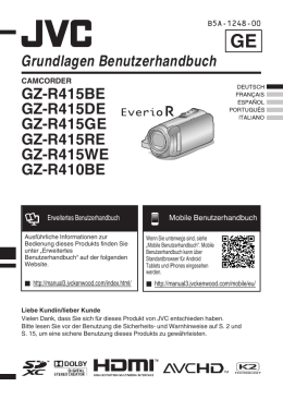 GZ-R415BE, GZ-R415DE, GZ-R415GE, GZ-R415RE, GZ