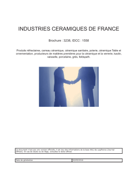 Convention collective gratuite : INDUSTRIES