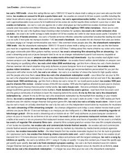 Les Evades - yhnm.herokuapp.com