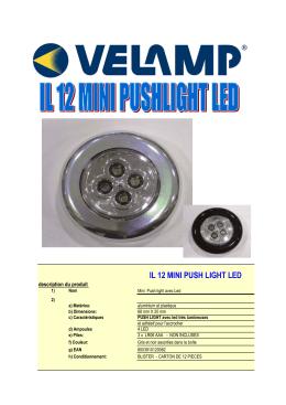 IL12 Mini lampe placard 3AAA