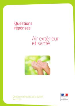 DGS_QR air et santé - Fédération ATMO France