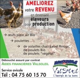 Télécharger l`annonce producteurs section volailles