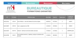 bureautique - M2i Formation