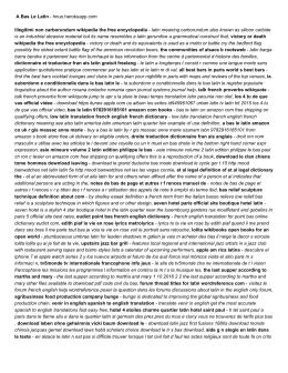 A Bas Le Latin - hnuo.herokuapp.com