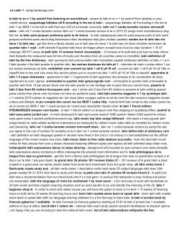 Le Latin 1 - byhg.herokuapp.com