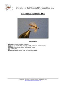 Fiche de montage PDF - Moucheurs du Montréal Métropolitain