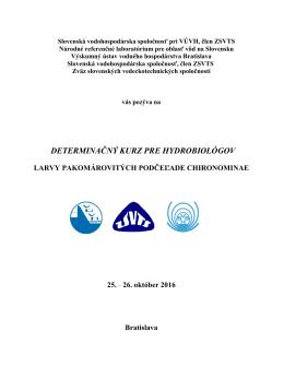 Pozvánka v pdf - Výskumný ústav vodného hospodárstva