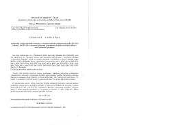 spoločný obecný úrad veřejná vyhláška