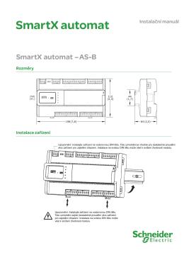 SmartX automat - Schneider Electric