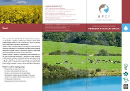 Letak - APCP :..: Projekt kontrole onečišćenja u poljoprivredi