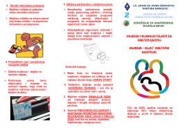 Dojenje, ključ održivog razvoja - Zavod za javno zdravstvo Kantona