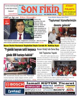 SAYI:531 - Sonfikir Gazetesi