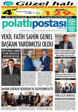 postası - Polatli Postasi