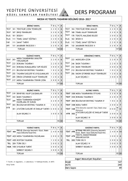 yedıtepe unıversıty - faculty of engıneerıng and archıtecture