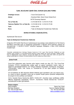 Toplu İş Sözleşmesi İmzalanması Hakkında