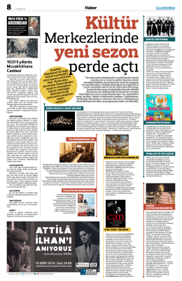 Kültür - Gazete Kadıköy