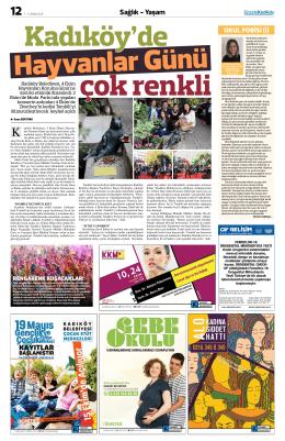 Sağlık - Yaşam - Gazete Kadıköy