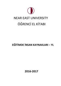 near east unıversıty öğrenci el kitabı - Uzem