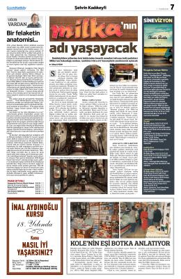 nın - Gazete Kadıköy