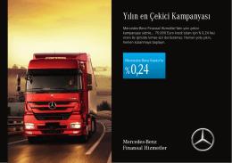 Yılın en Çekici Kampanyası - Mercedes