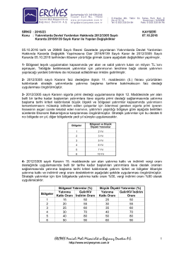 incele - erciyes yeminli mali müşavirlik ve bağımsız denetim a.ş.
