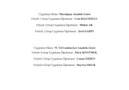 felsefe-sosyoloji-psikoloji grubu öğrenci listeleri