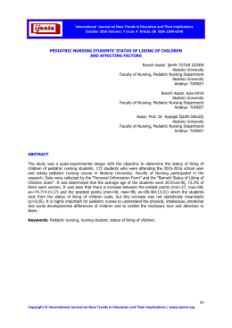 7 Issue: 4 Article: 06 ISSN 1309 - International Journal on New